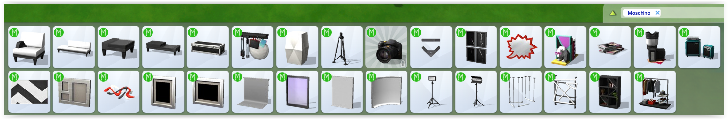 objets kit moshino sims 4